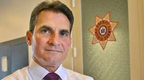 Suffolk County Sheriff Vincent DeMarco's name has been