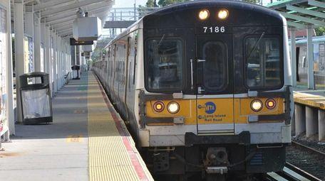 A Long Island Rail Road train derailed at