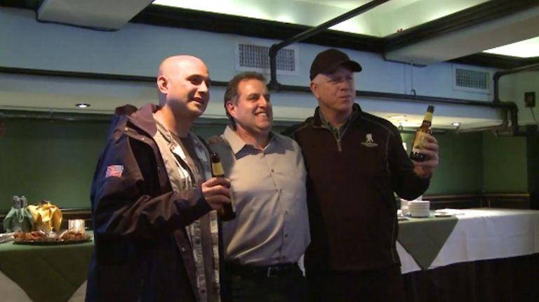 WFAN radio hosts Boomer Esiason and Craig Carton