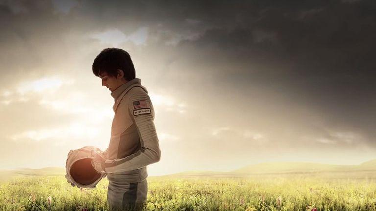 A teenage boy raised on Mars begins an