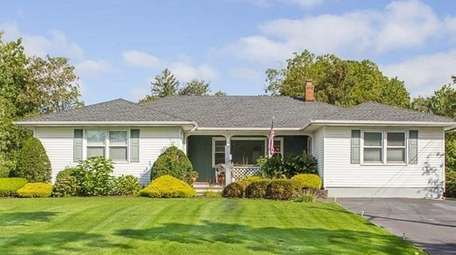 This three-bedroom ranch, on the market in January