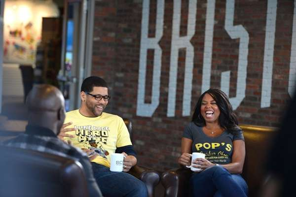 Michael Smith and Jemele Hill during an ESPN