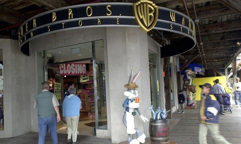 Warner Bros. Studio Stores opened in 1991, selling