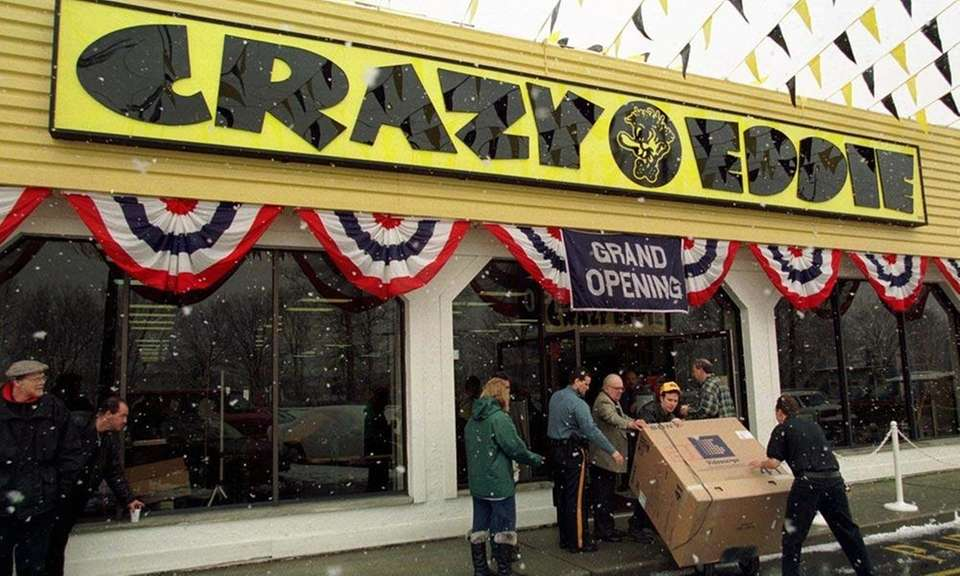 Crazy Eddie was an electronics chain that started