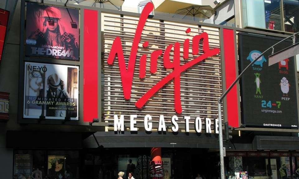 Virgin Megastore, which began in London in 1971,