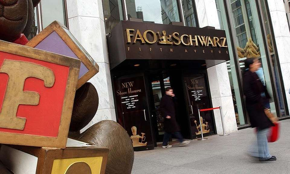 Once the nation's oldest toy store, FAO Schwarz