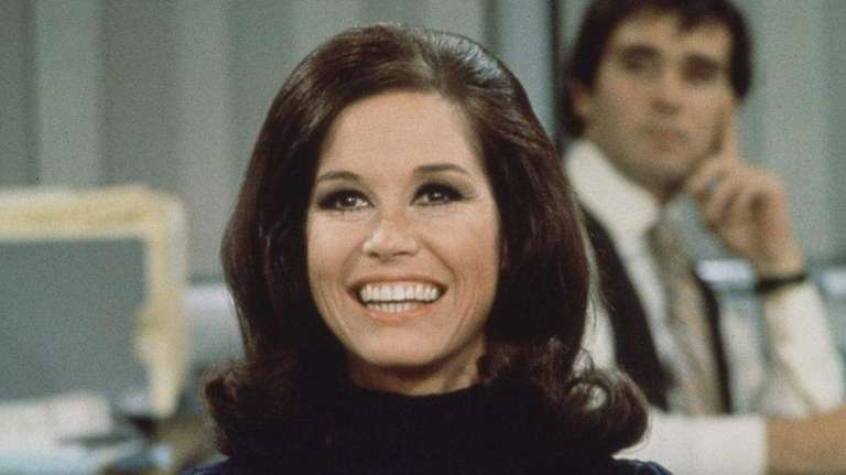 Mary Tyler Moore as Mary Richards on