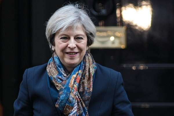 British Prime Minister Theresa May is scheduled