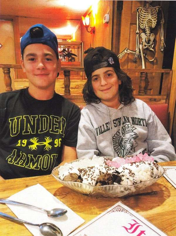 Kidsday reporters Michael Capolino and Alex Benincasa at