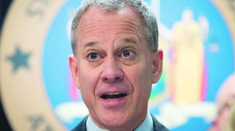 State Attorney General Eric T. Schneiderman said Wednesday