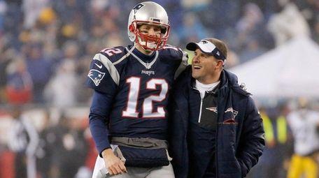 Tom Brady of the New England Patriots