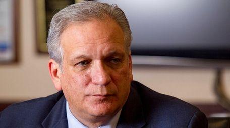 Nassau County Executive Edward Mangano is seen on