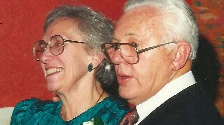 William Bauer, 97, and Ruth Bauer, 92, longtime