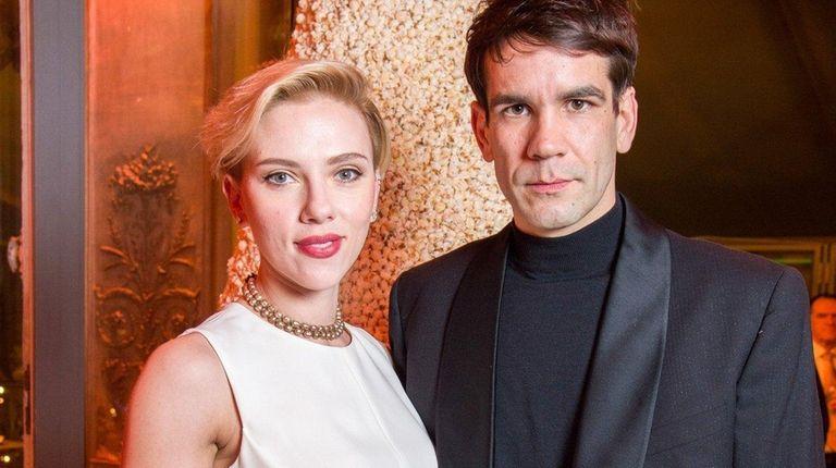 People magazine reports Scarlett Johansson and Romain Dauriac,
