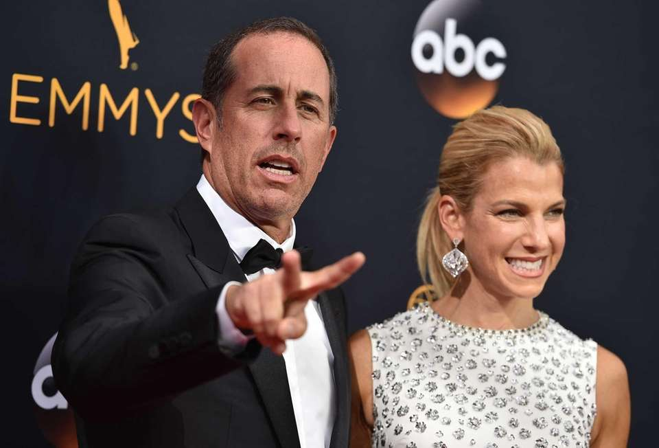 YEARS OF MARRIAGE: 17 Jessica Seinfeld, 45, first