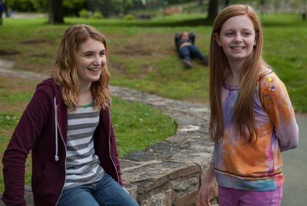 Clare Foley, left, and Sophie Nélisse star in