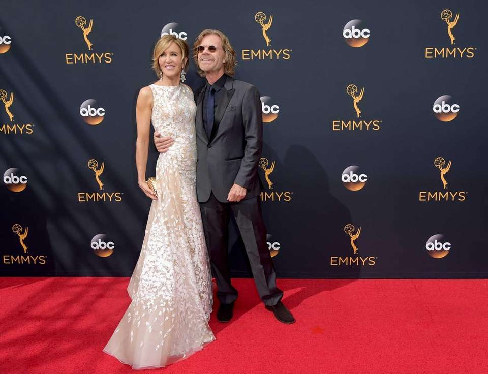YEARS OF MARRIAGE: 19Felicity Huffman, 54, and William