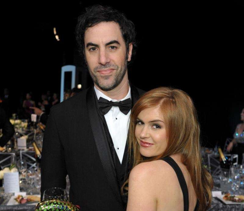 YEARS OF MARRIAGE: 6 Sacha Baron Cohen, 45,