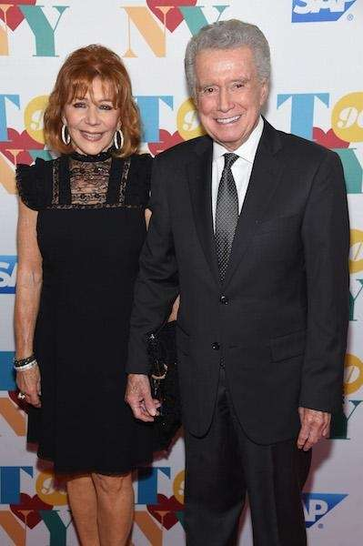 YEARS OF MARRIAGE: 45 Joy, 75, and Regis
