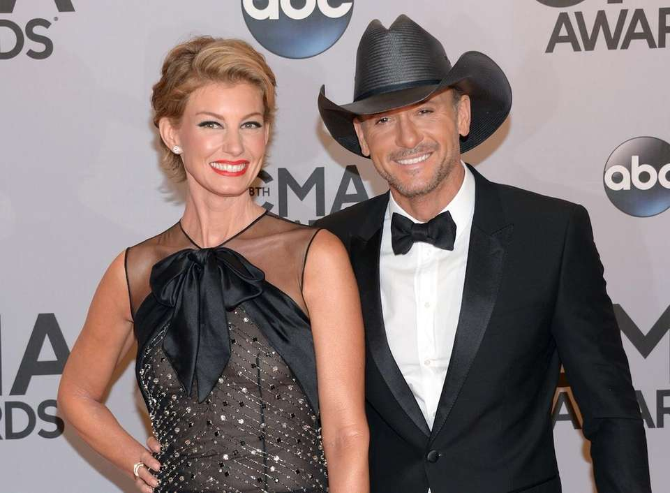 YEARS OF MARRIAGE: 20McGraw, 49, proposed to Hill,