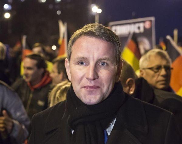 Bjoern Hoecke, chairman of the Alternative fuer Deutschland