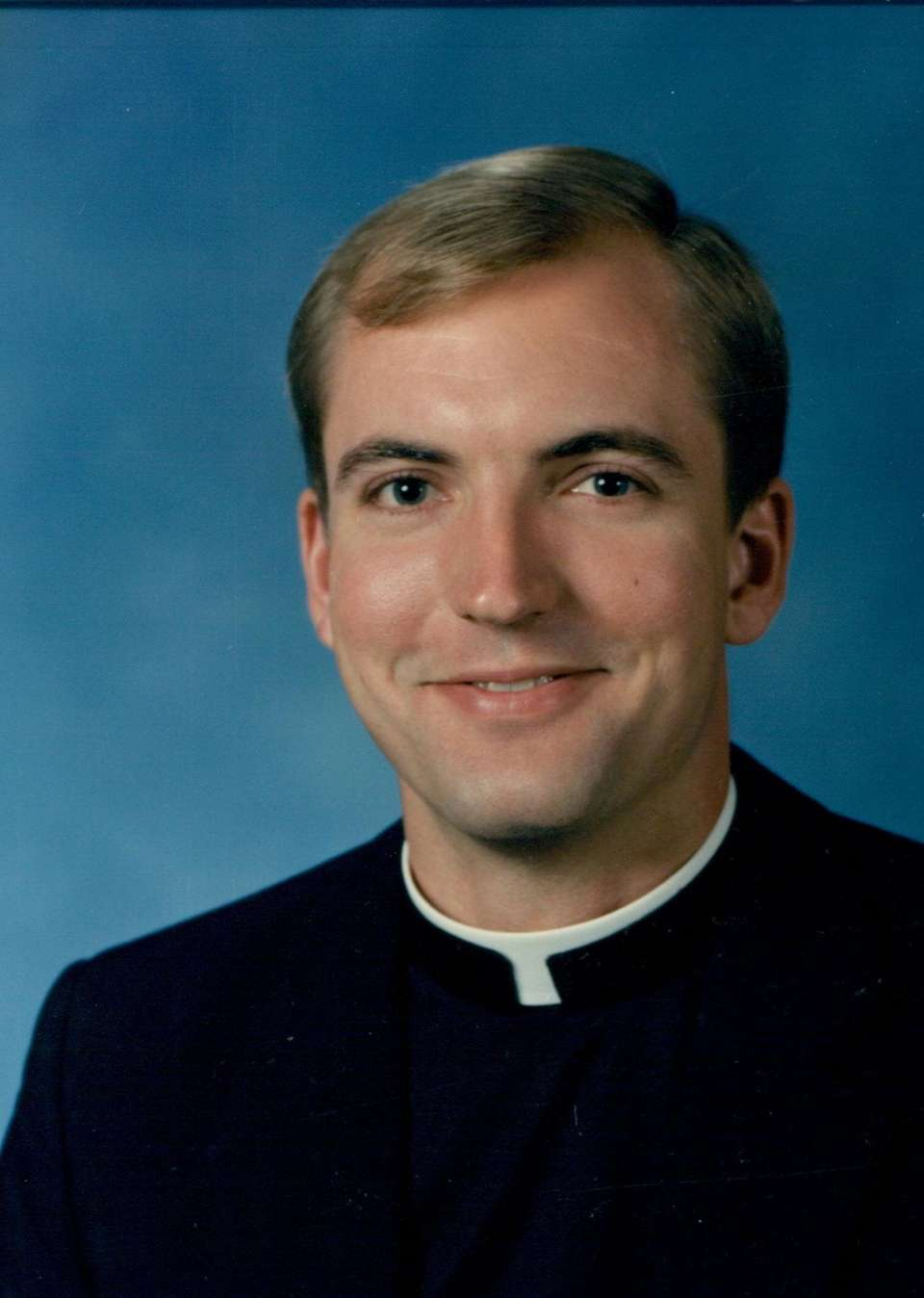 Rev. John O. Barres ordination picture 1989.