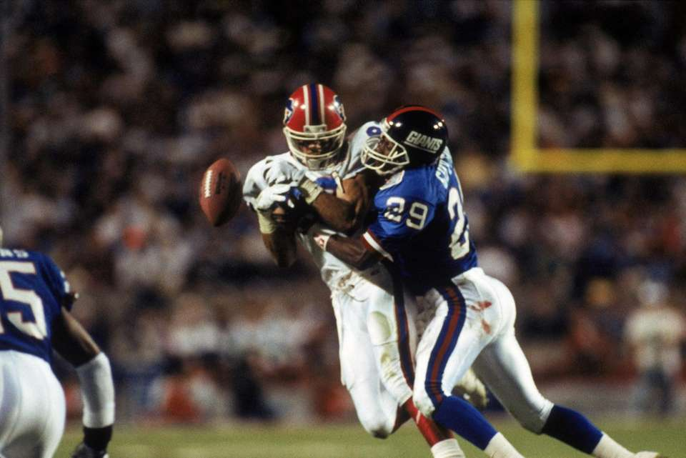 Wide receiver Andre Reed of the Buffalo Bills
