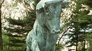 The Smithtown bull at state routes 25 and