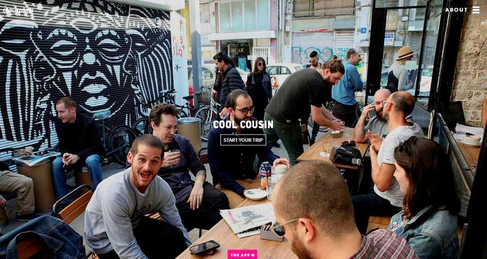 NAME Cool Cousin -- Travel Through People app