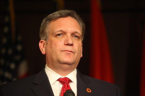 Nassau County Executive Edward Mangano, seen in 2011,