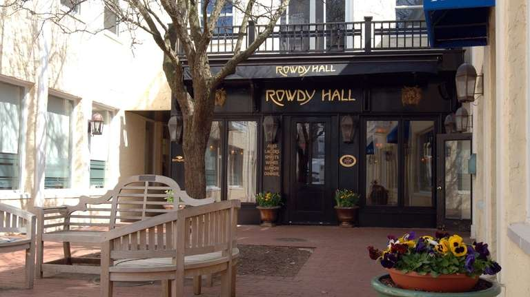 Rowdy Hall in East Hampton.
