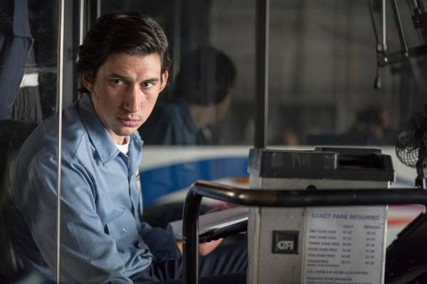 Adam Driver drives a bus and writes poetry
