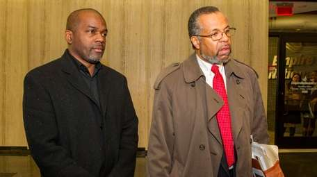 Retired Nassau County correction officer Ronald Lanier and