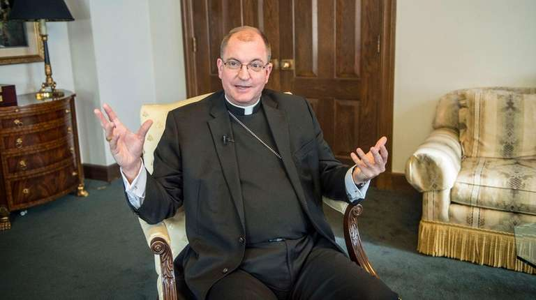 Bishop-designate John Barres during an interview in the