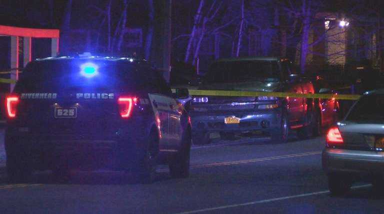 Police respond to West Main Street in Riverhead
