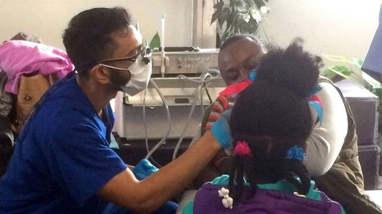 The annual Give Kids A Smile event provides