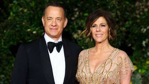 Tom Hanks and Rita Wilson, both 60, married