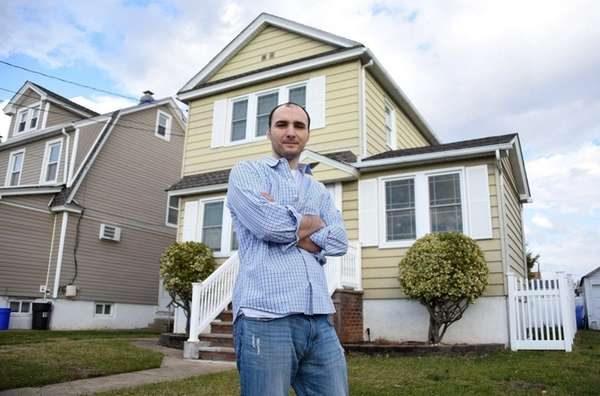 Philip Coiro, outside his Valley Stream home Thursday,