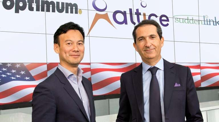 Dexter Goei, CEO and chairman of Altice USA,