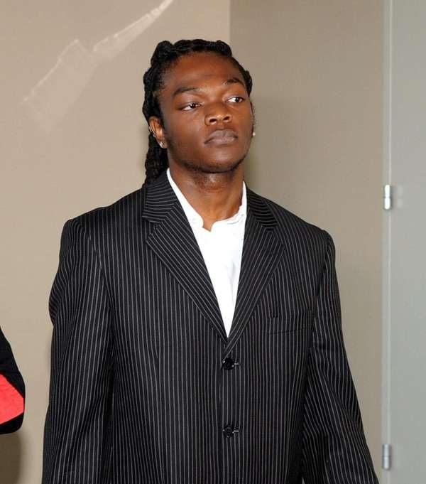 Oneil Sharpe Jr., shown at First District Court