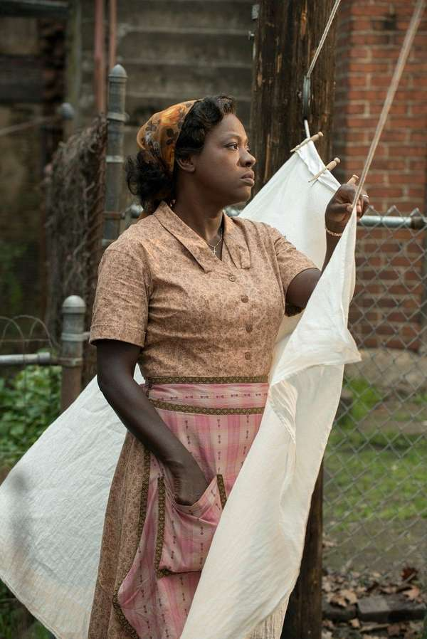 Viola Davis has been nominated for an Oscar