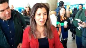 Vahideh Rasekhi, an Iranian sixth-year doctoral student in
