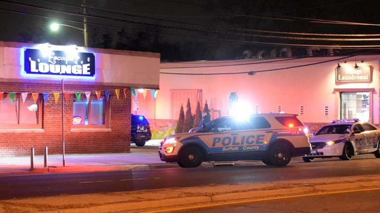 Police are investigating a shooting outside Escape Lounge