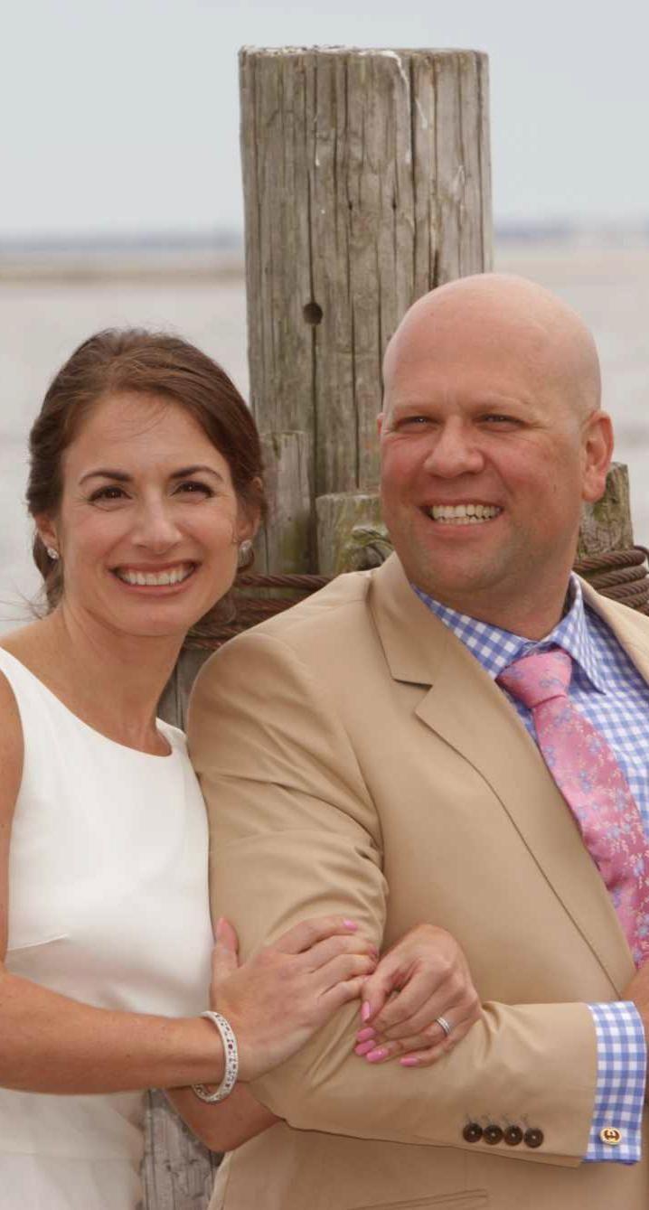 Chrissy and Joe Lanzisera, formerly of Long Island,