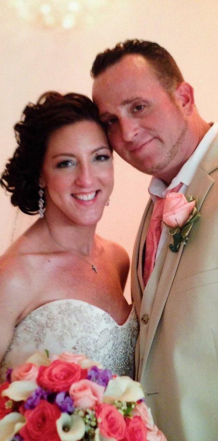 Kelley Fusco and her husband, Sal, of