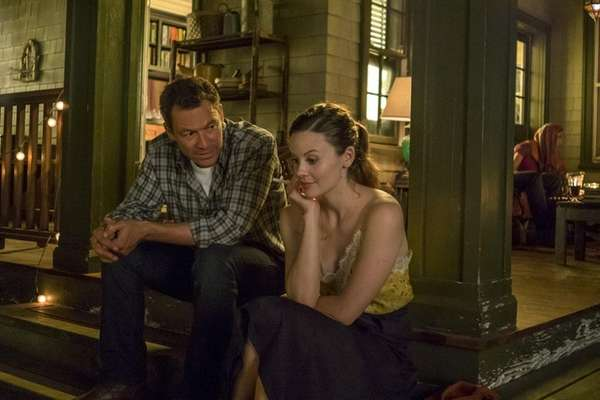 Dominic West, who plays Noah Solloway, and Sarah