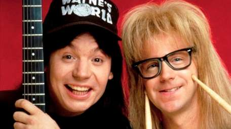 Mike Myers and Dana Carvey are laugh-worthy in