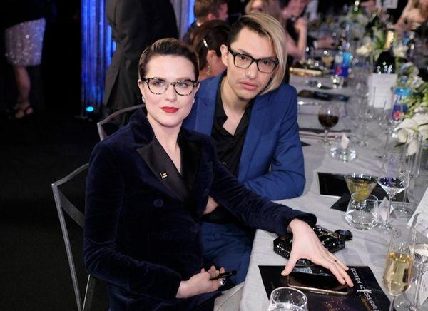Evan Rachel Wood, left, and Zach Villa are
