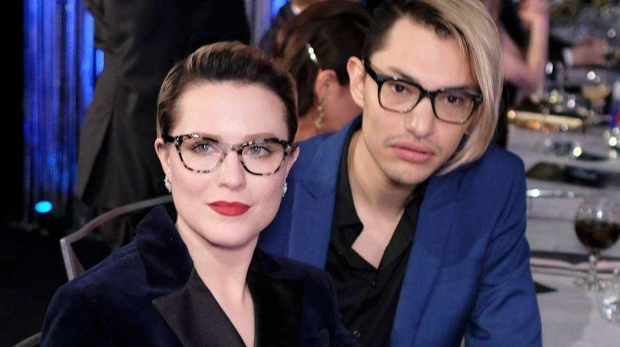 Evan Rachel Wood, left, and Zach Villa are