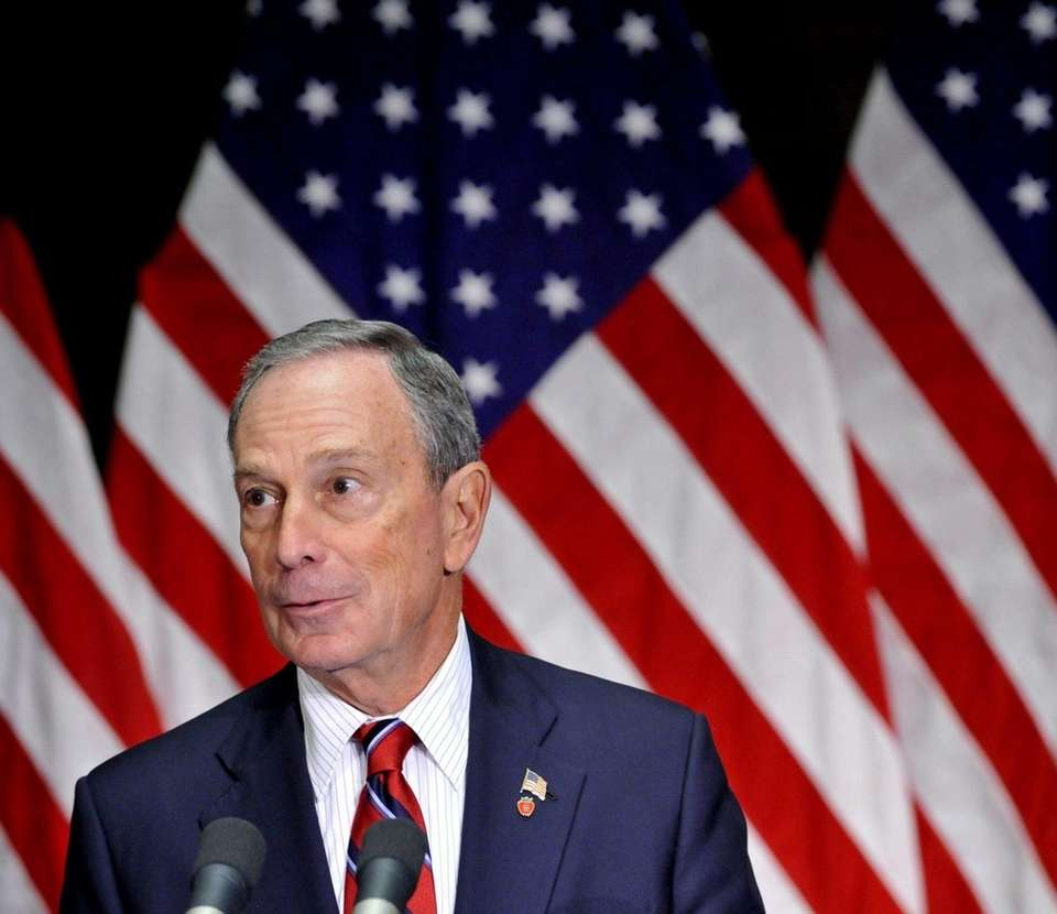 Former New York City Mayor Mike Bloomberg, born